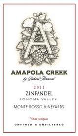 2011 Zinfandel, Monte Rosso Vineyards, Moon Mountain District