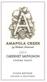 2013 Cabernet Sauvignon, Sonoma Valley, Estate Vineyard
