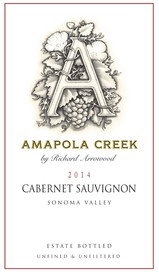2014 Cabernet Sauvignon, Sonoma Valley, Estate Vineyard