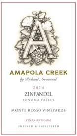 2014 Zinfandel, Sonoma Valley, Monte Rosso Vineyard