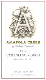 2016 Cabernet Sauvignon, Sonoma Valley, Estate Vineyard