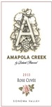 2013 Rose Cuvée, Sonoma Valley, Amapola Creek Estate Vineyard