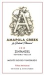 2013 Zinfandel, Sonoma Valley, Monte Rosso Vineyard
