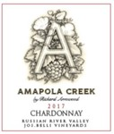 2017 Chardonnay, Russian River Valley, Jos. Belli Vineyards