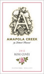 2012 Rose Cuvée, Sonoma Valley, Amapola Creek Estate Vineyard